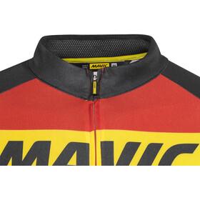 Mavic Cosmic - Maillot manga corta Hombre - rojo/negro
